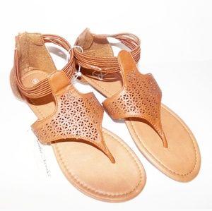Brown Indian sandles